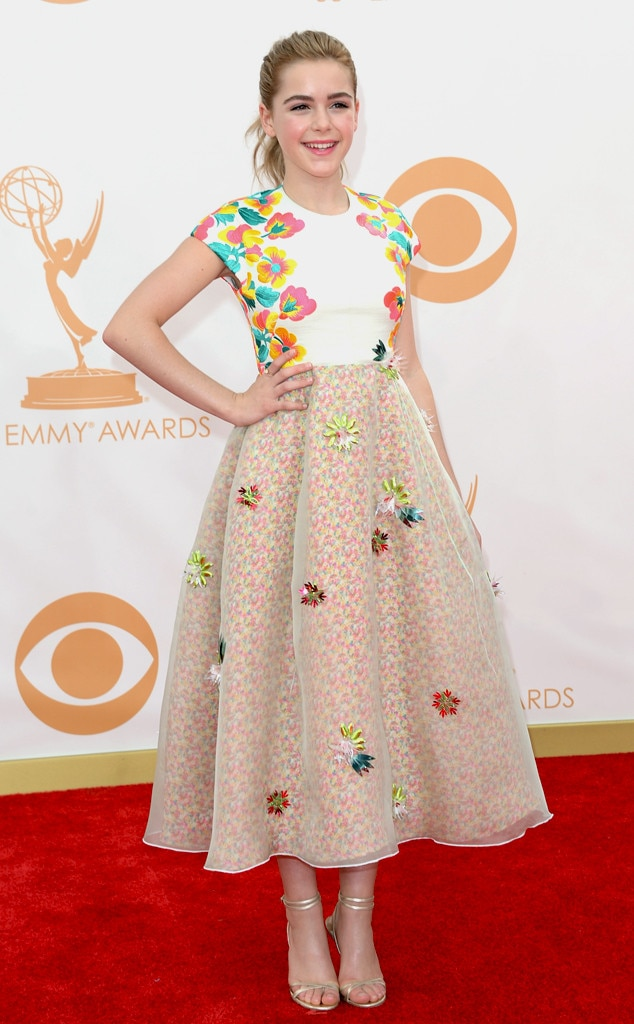 Kiernan Shipka, Emmy Awards, 2013