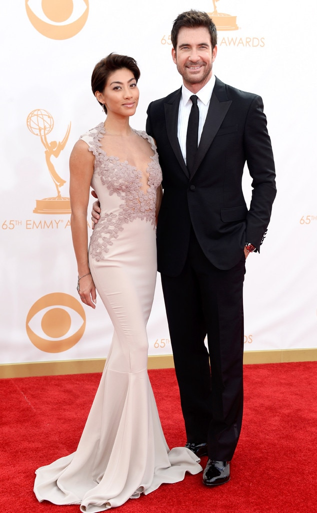 Dylan McDermott, Shasi Wells, Emmy Awards, 2013