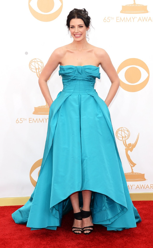 Jessica Pare, Emmy Awards, 2013, Oscar de la Renta