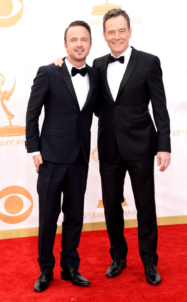Aaron Paul, Bryan Cranston, Emmy Awards, 2013
