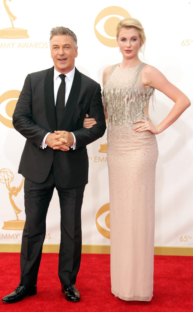 Alec Baldwin, Ireland Baldwin Emmy Awards, 2013