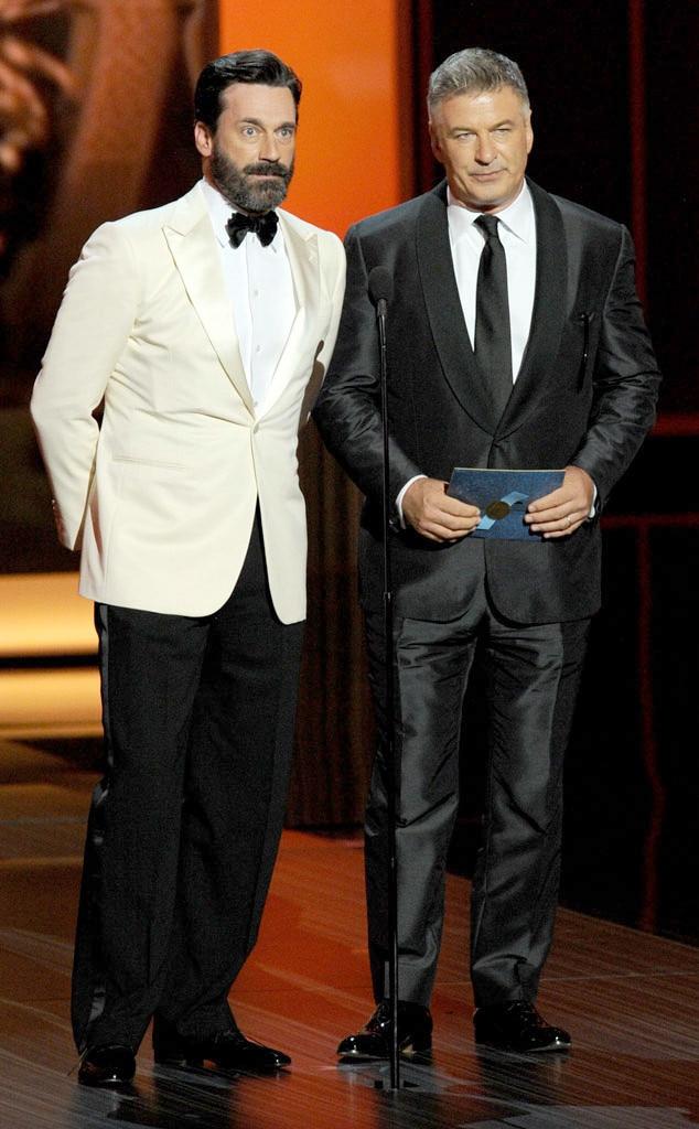 Jon Hamm, Alec Baldwin, Emmy Awards Show