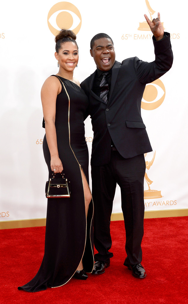 Tracy Morgan, Megan Wollover, Emmy Awards, 2013
