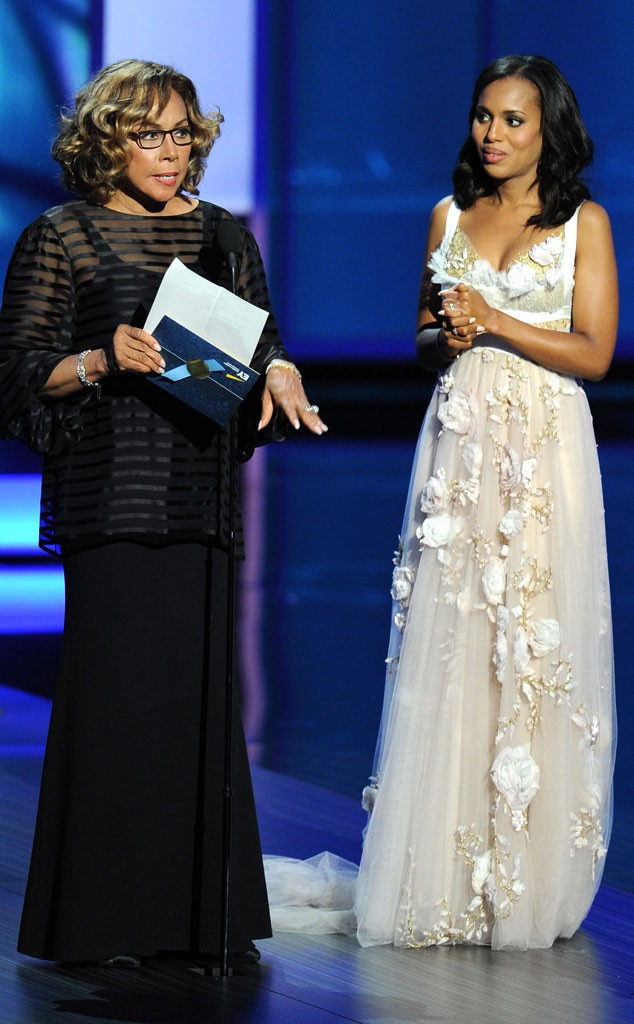Diahann Carroll, Kerry Washington, Emmy Awards Show
