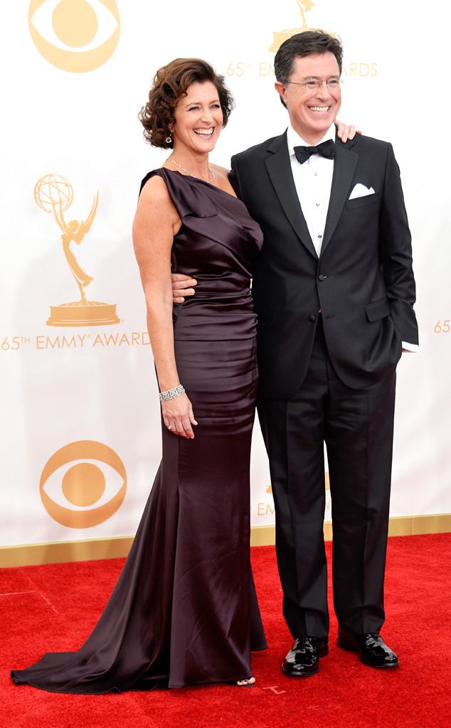 Stephen Colbert, Evelyn Colbert, Emmy Awards, 2013