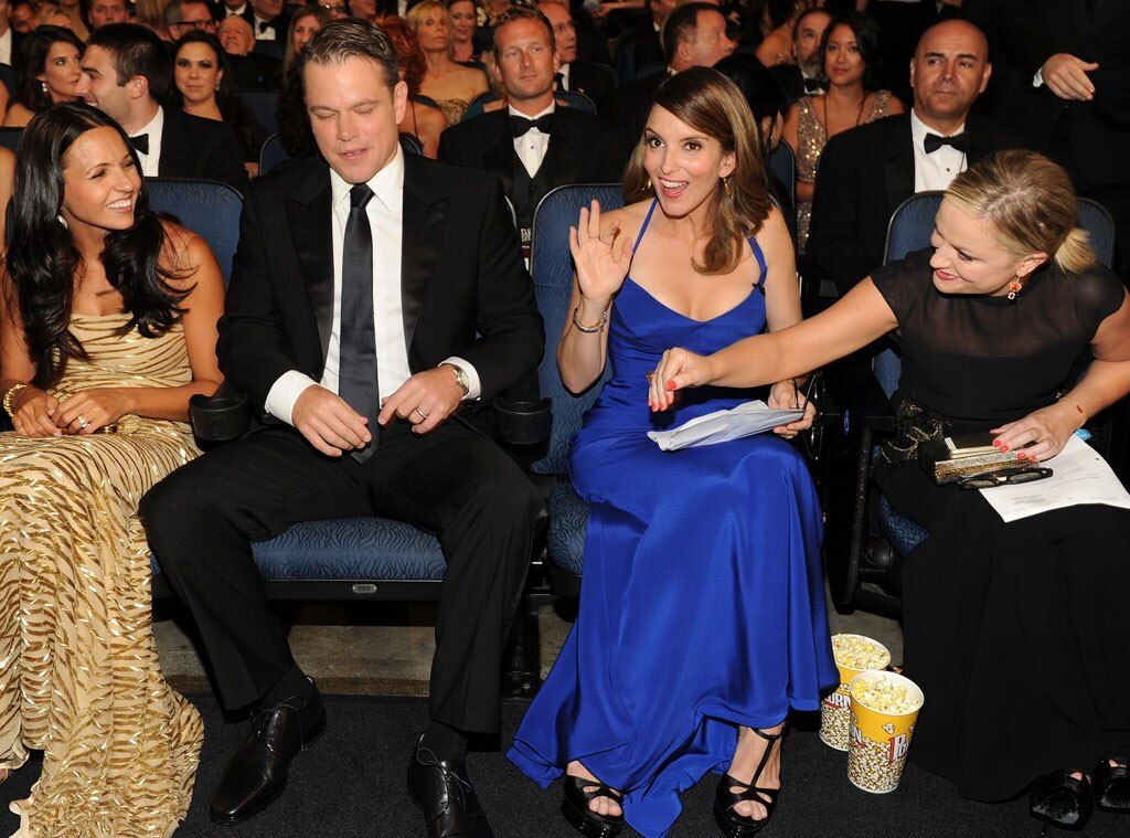 Luciana Barroso, Matt Damon, Tina Fey, Amy Poehler