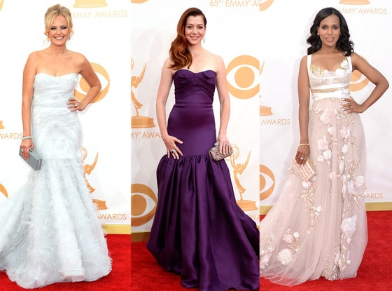 Marchesa, Malin Akerman, Alyson Hanigan, Kerry Washington