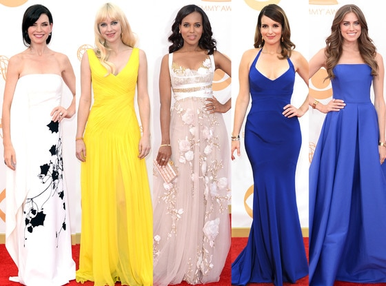 Fred Leighton, Julianna Marguiles, Anna Faris, Kerry Washington, Tina Fey, Allison Williams