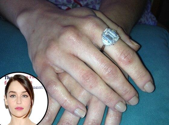 Emilia Clarke, Emmy Awards 2013, Manicure