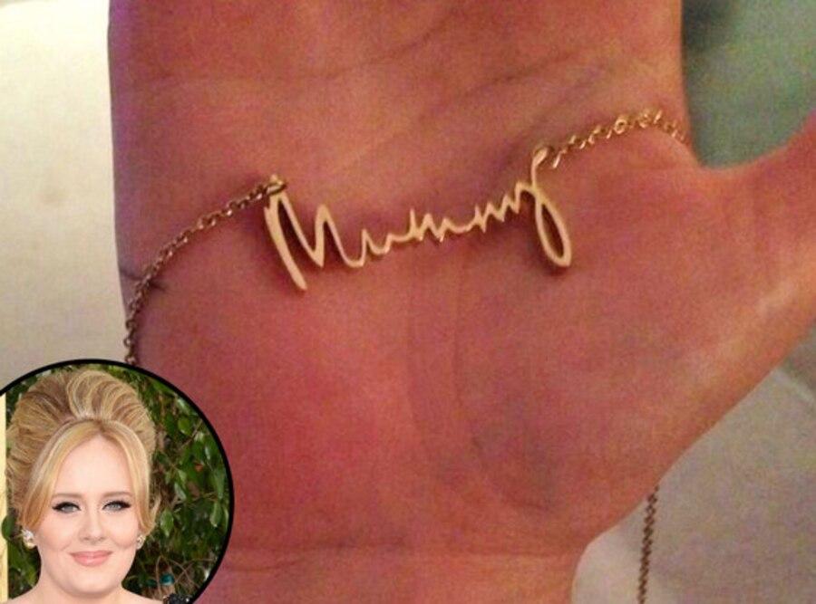 Adele, Mummy Necklace, Twit Pic