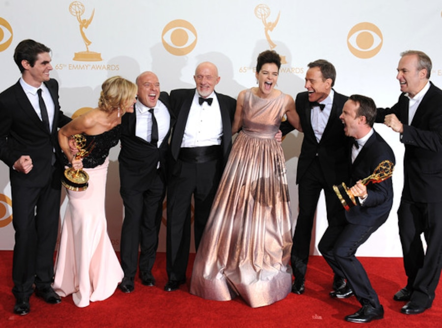 Breaking Bad Cast, Emmy Awards 2013