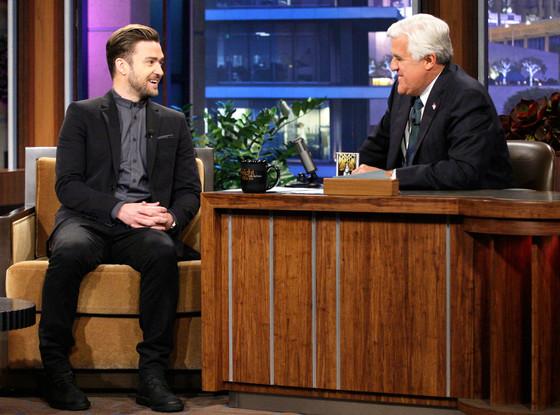 Justin Timberlake, Jay Leno
