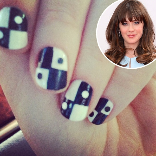 Zooey Deschanel, Nails