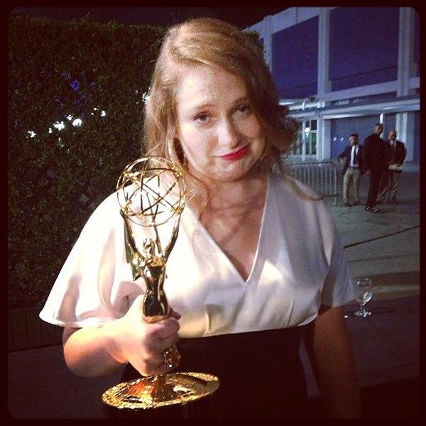 Lena Dunham, Emmy Awards, Instagram