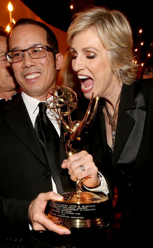 Animator Paul Wee, Jane Lynch