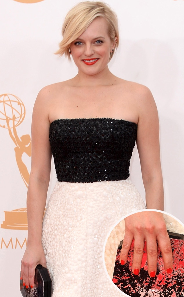 Elisabeth Moss, Emmy Awards, 2013