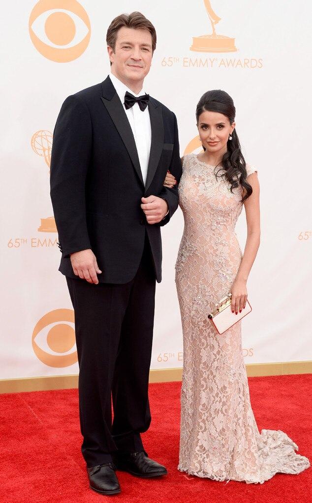 Nathan Fillion, Mikaela Hoover, Emmy Awards, 2013