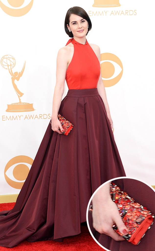 Michelle Dockery, Emmy Awards, 2013, Manicure