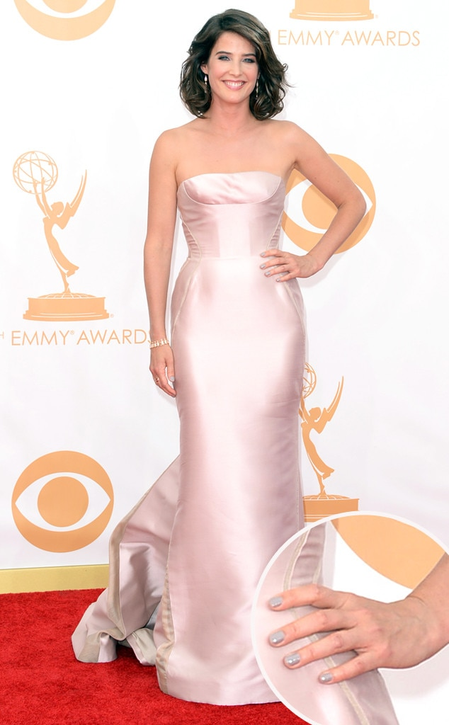 Cobie Smulders, Emmy Awards, 2013, Manicure