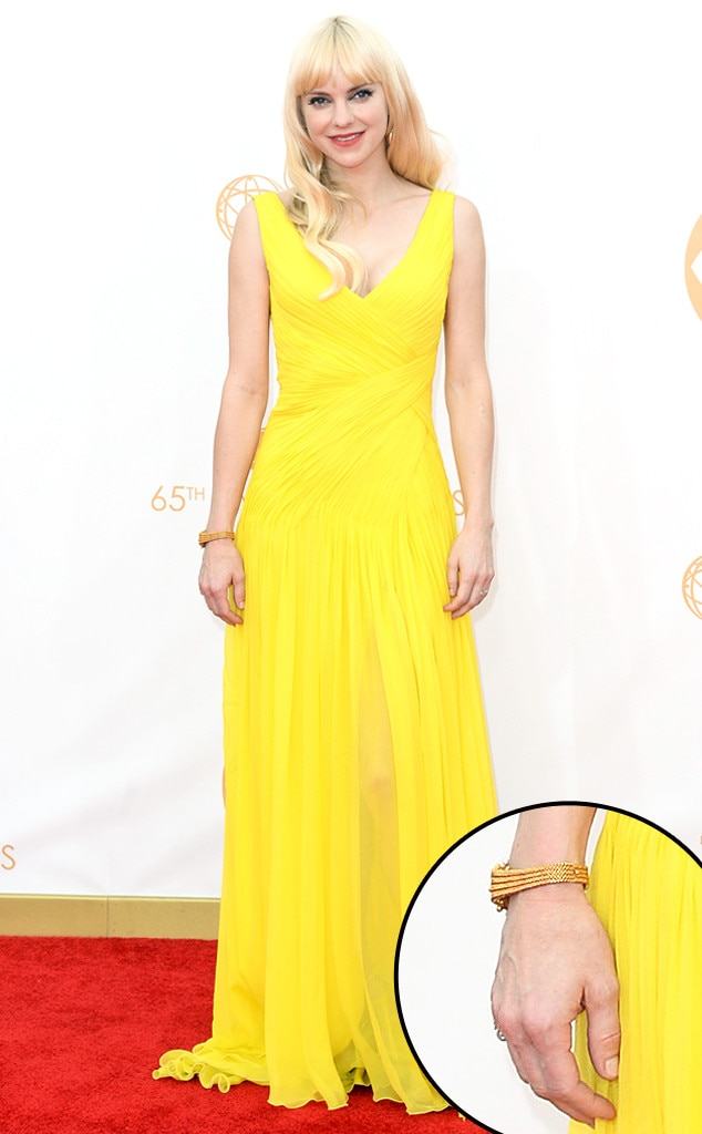 Anna Faris, Emmy Awards, 2013, Manicure