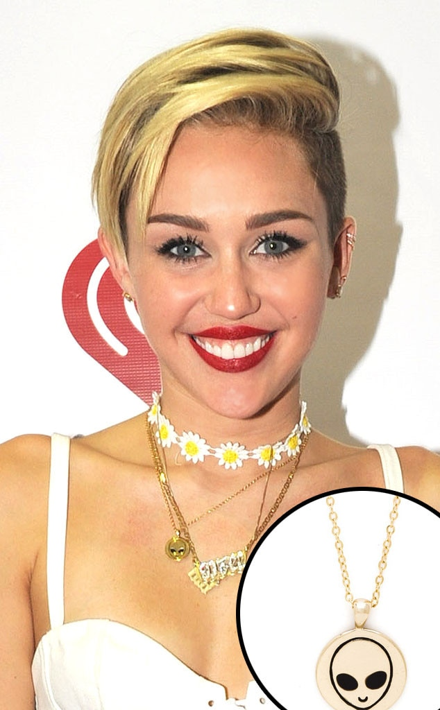 Miley Cyrus, OK1984 Necklace