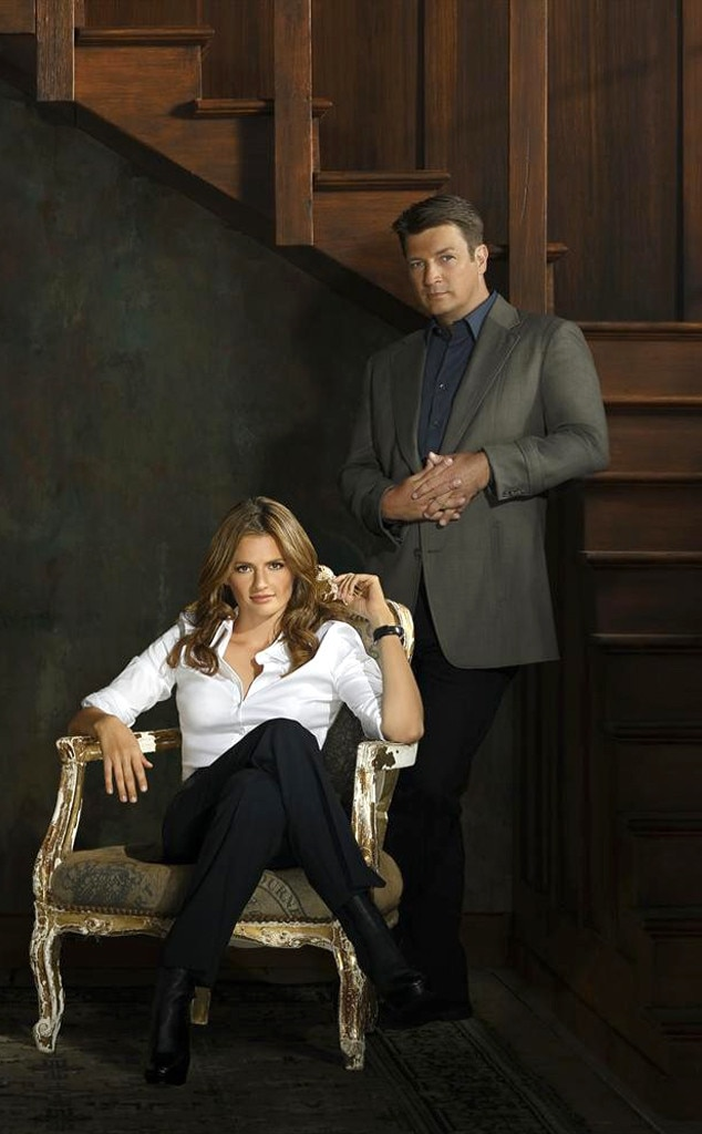 Castle, Stana Katic, Nathan Fillion