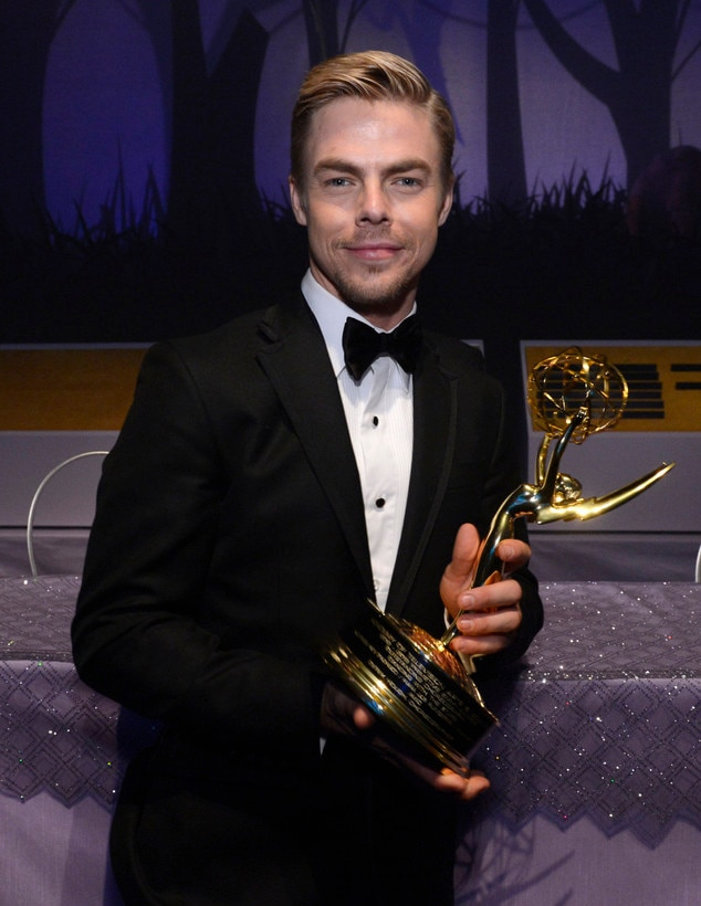 Derek Hough, Governor's Ball, Emmy Awards 2013