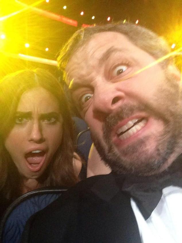 Judd Apatow, Allison Williams, Emmy Awards, Twit Pic