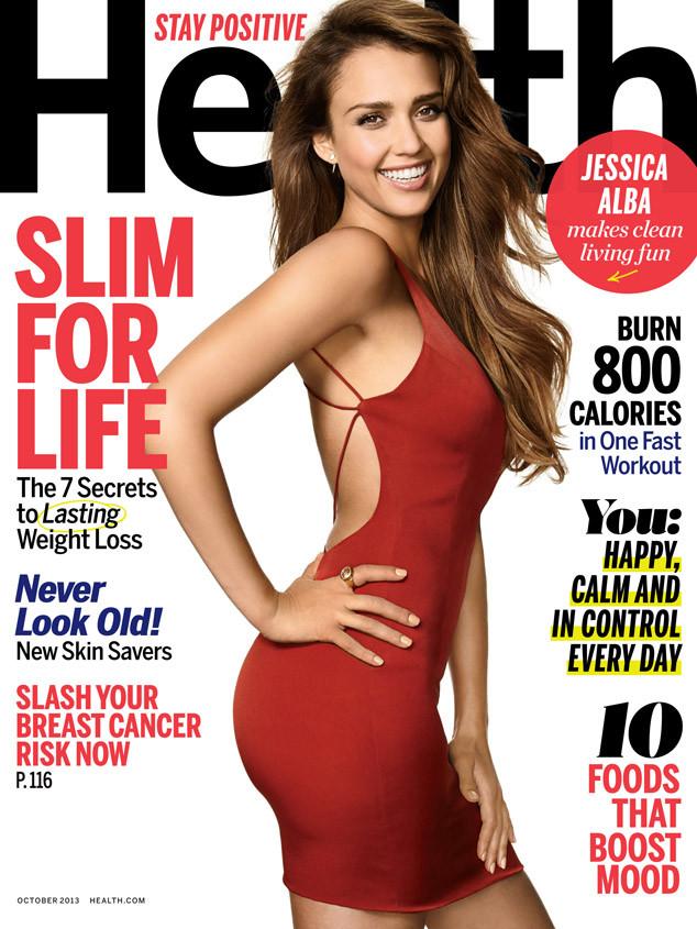 Jessica Alba, Health magazine