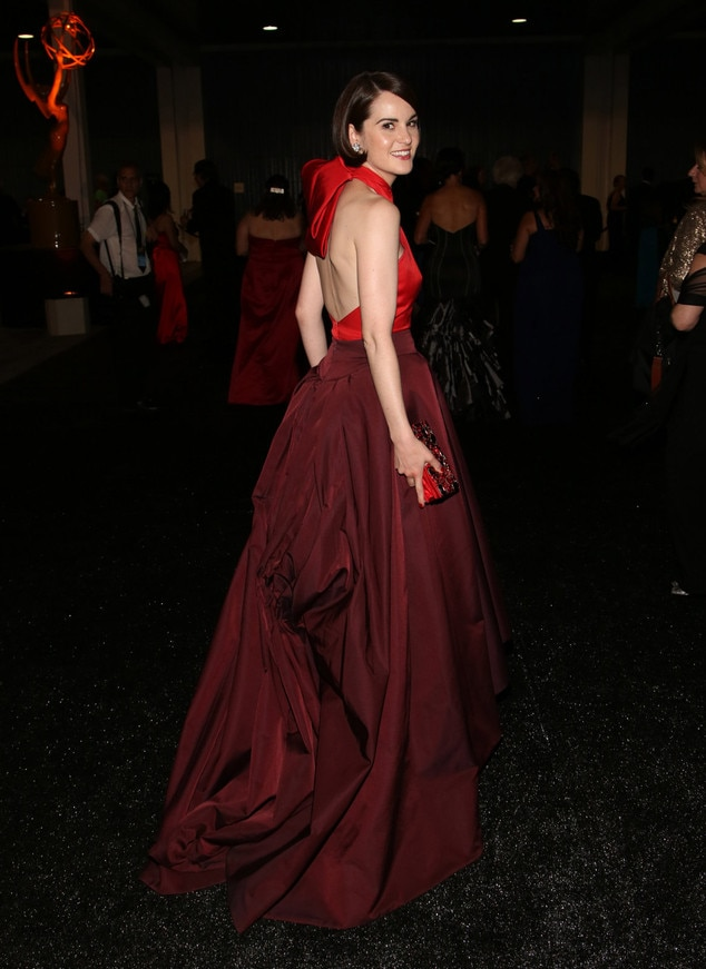 Michelle Dockery, Governor's Ball, Emmy Awards 2013