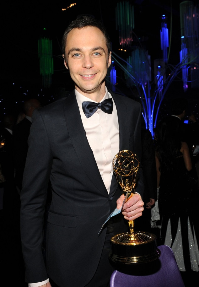 Jim Parsons, Governor's Ball, Emmy Awards 2013