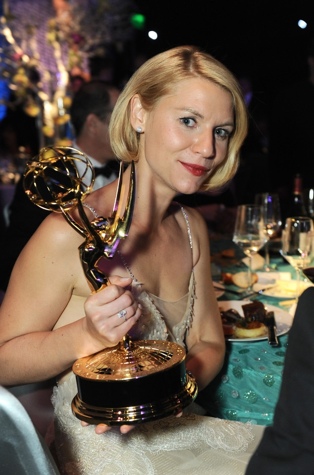 Claire Danes, Governor's Ball, Emmy Awards 2013