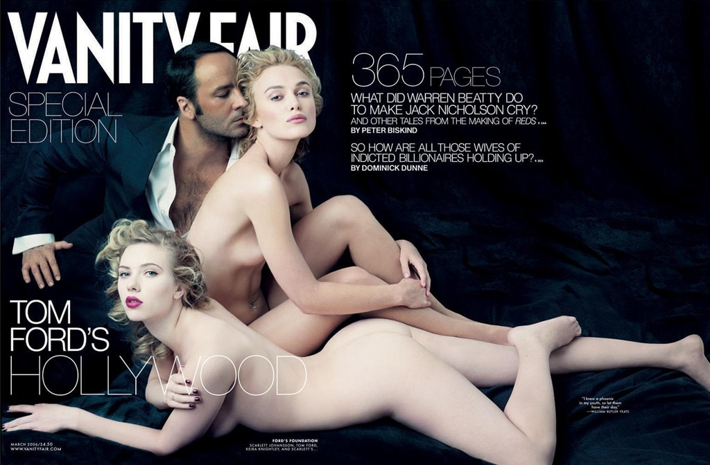 Vanity Fair, Cover, Scarlett Johansson, Keira Knightley, Tom Ford