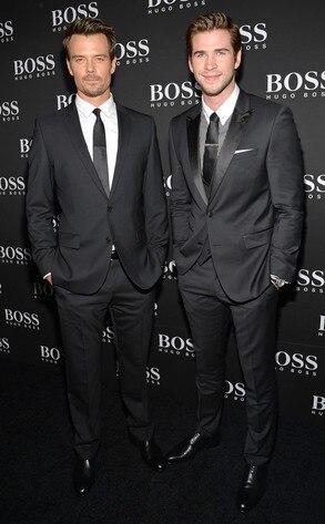 Josh Duhamel, Liam Hemsworth