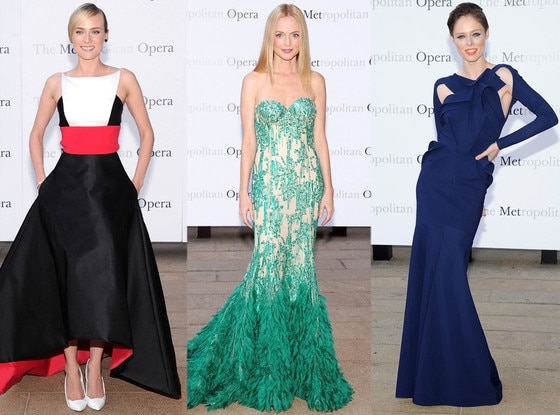 Diane Kruger, Heather Graham, Coco Rocha