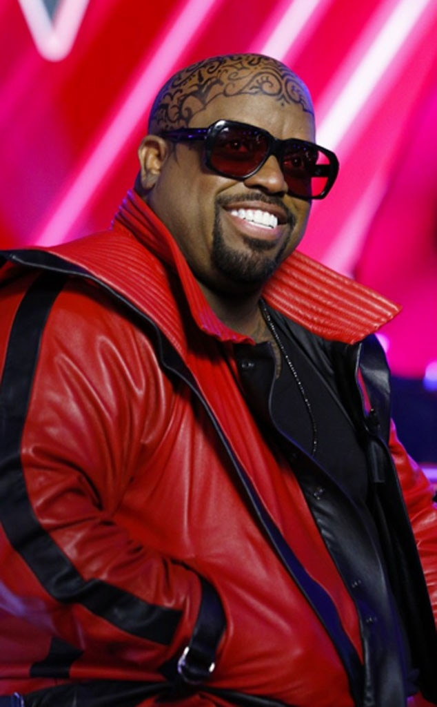 Ceelo green debuts full head tattoo on the voice is it for Full head tattoo