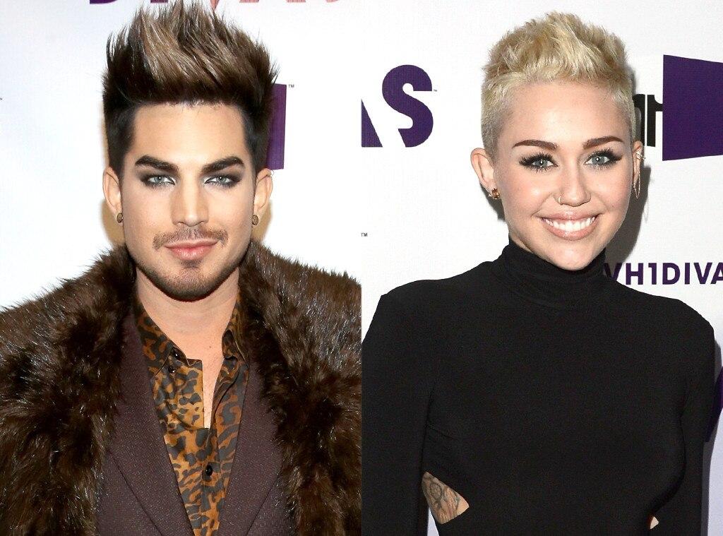 Adam Lambert, Miley Cyrus