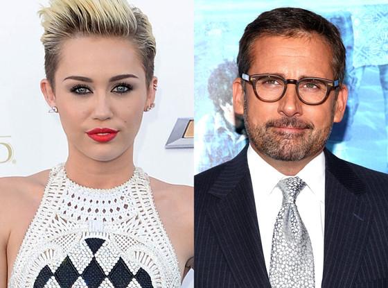 Miley Cyrus, Steve Carell