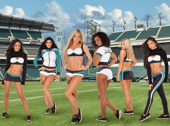 Vera Wang, Philadelphia Eagles Cheerleaders