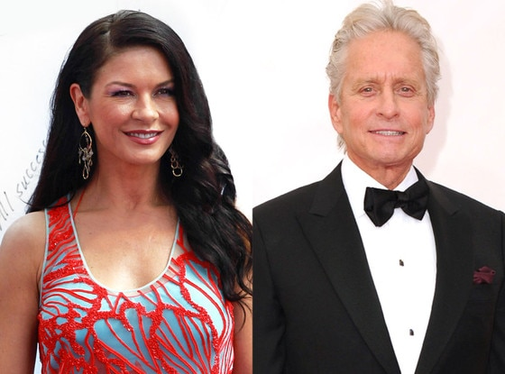 Catherine Zeta-Jones, Micahel Douglas