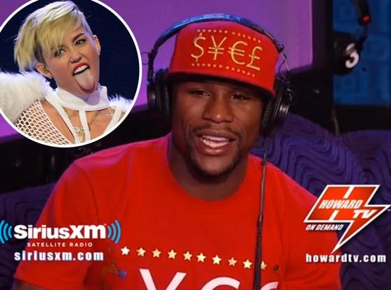 Miley Cyrus, Floyd Mayweatehr
