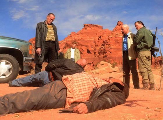Breaking Bad, Michael Bowen, Jesse Plemons, Dean Norris, Steven Michael Quezada, Bryan Cranston, Kevin Rankin