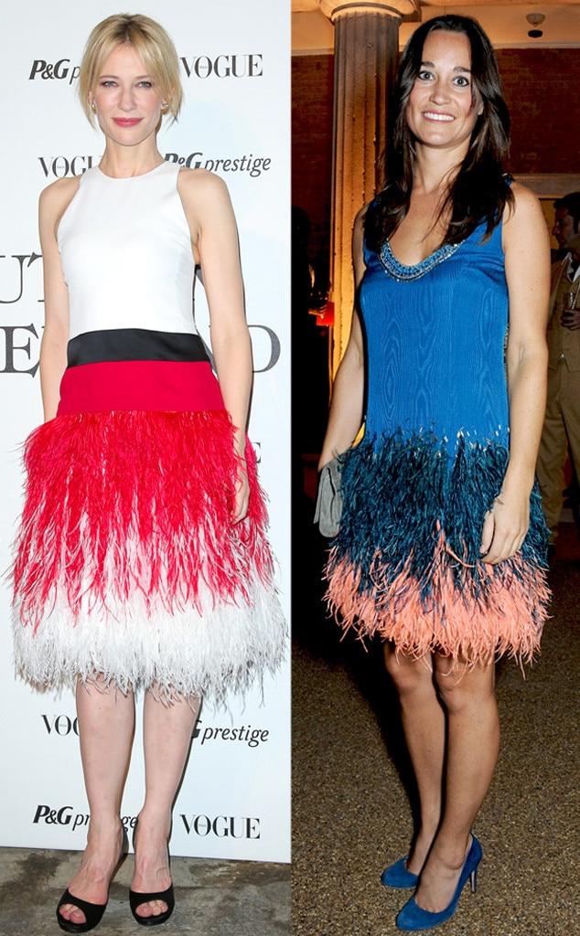 Cate Blanchett, Pippa Middleton