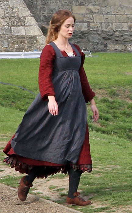 Emily Blunt, Into The Woods BTS
