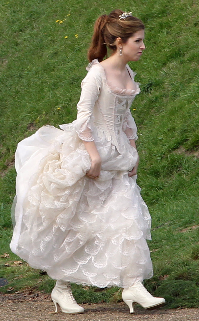 Anna Kendrick, Into The Woods BTS
