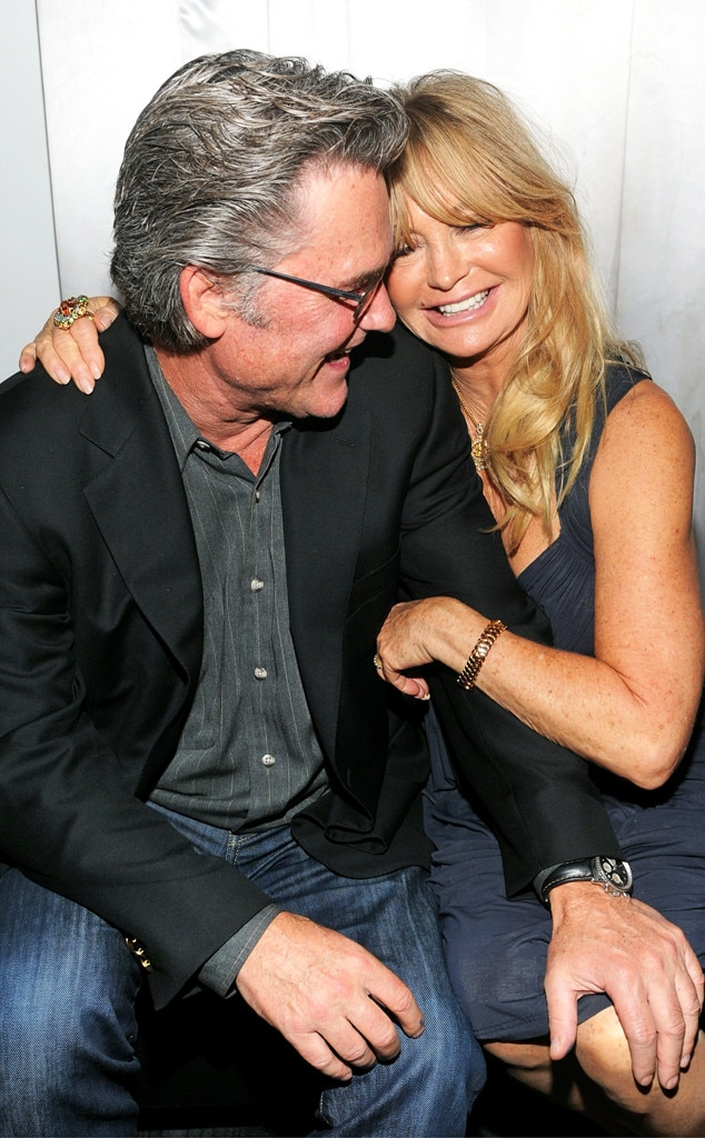 Kurt Russell & Goldie Hawn from Famously Unmarried Celeb ...