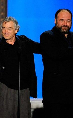 Robert De Niro, James Gandolfini