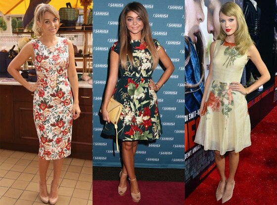 Taylor Swift, Lauren Conrad, Sarah Hyland