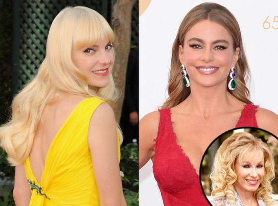 Anna Faris, Sofia Vergara, Emmy Awards, Lea Black