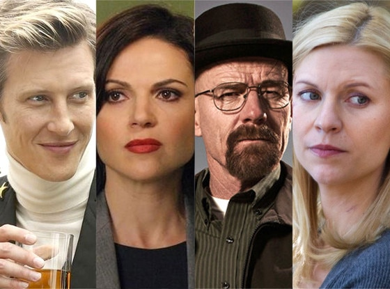 Gabriel Mann, Revenge, Lana Parrilla, Once Upon a Time, Bryan Cranston, Breaking Bad, Claire Danes, Homeland